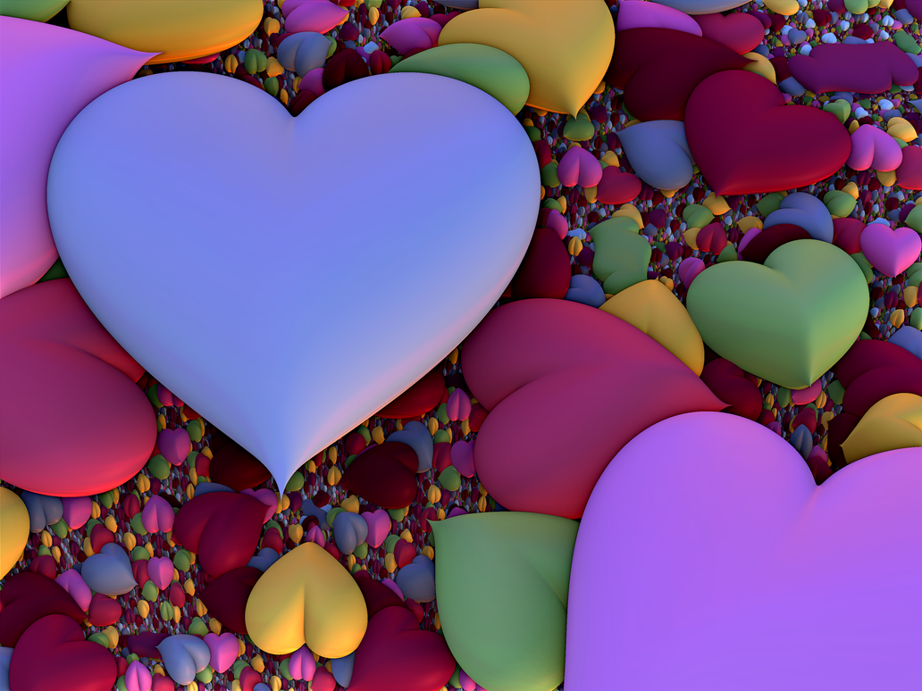 Hearts #1 by recycledrelatives