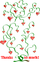 Heart Tree Thanks by recycledrelatives