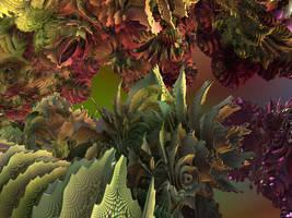Fractal Garden Friend by recycledrelatives