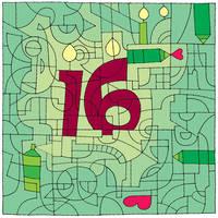 Happy 16th Birthday DeviantArt! by recycledrelatives