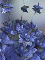 Periwinkle Blues by recycledrelatives