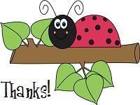 Ladybug Thanks by recycledrelatives