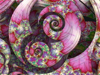 Spring Spirals by recycledrelatives
