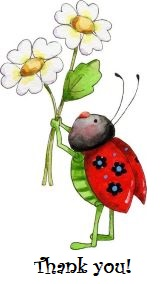 LadyBugFlowersThankYou