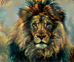 Fractalized Lion
