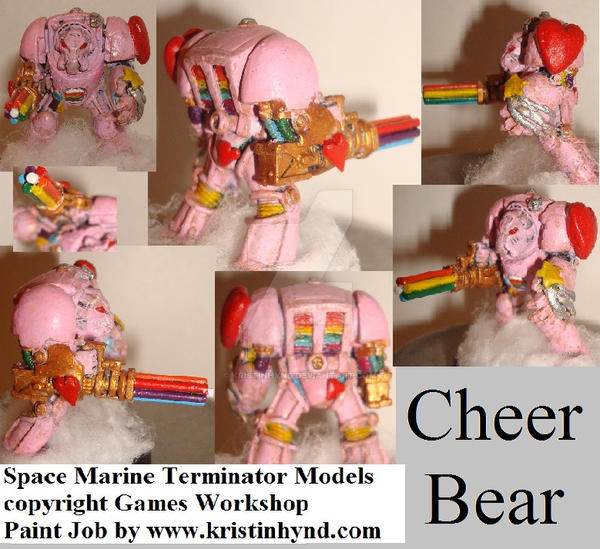 Cheer Bear:  Fuzzy Harbingers of DOOM! by KristinHynd