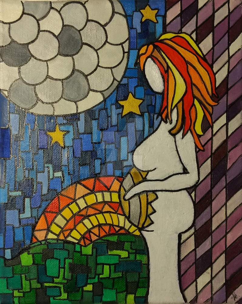 Winter Solstice Goddess by KristinHynd