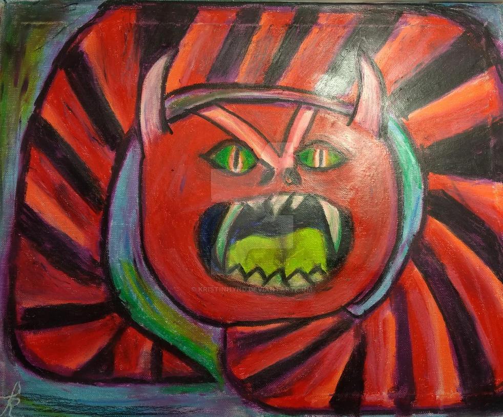 Inner Demons #7: Self Loathing by KristinHynd