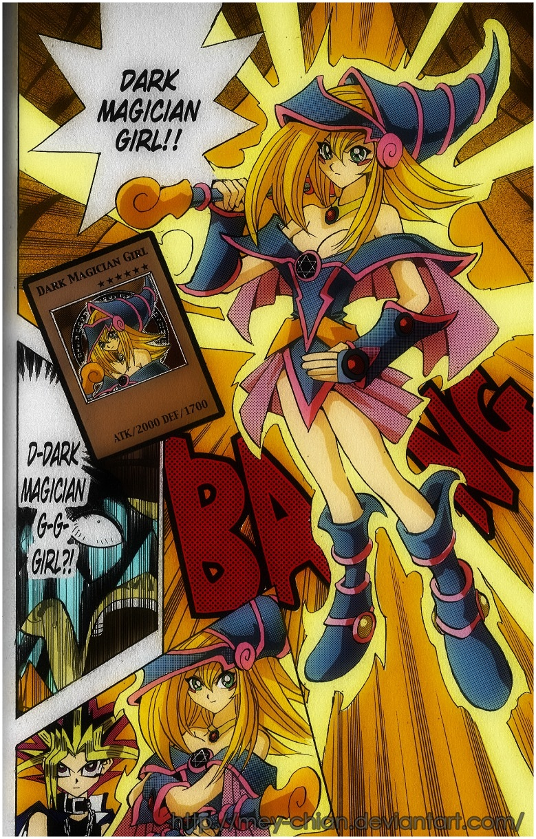 Winged Dark Magician Girl by TeraMaster on DeviantArt