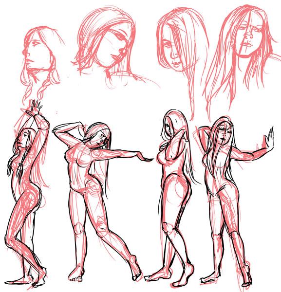 anatomy studies by str4yk1tt3n on DeviantArt