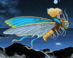 The Moth Rider by str4yk1tt3n