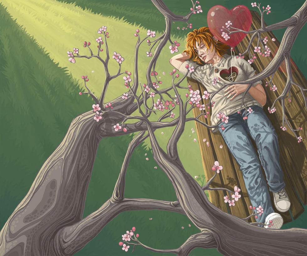 The Return of Spring by str4yk1tt3n