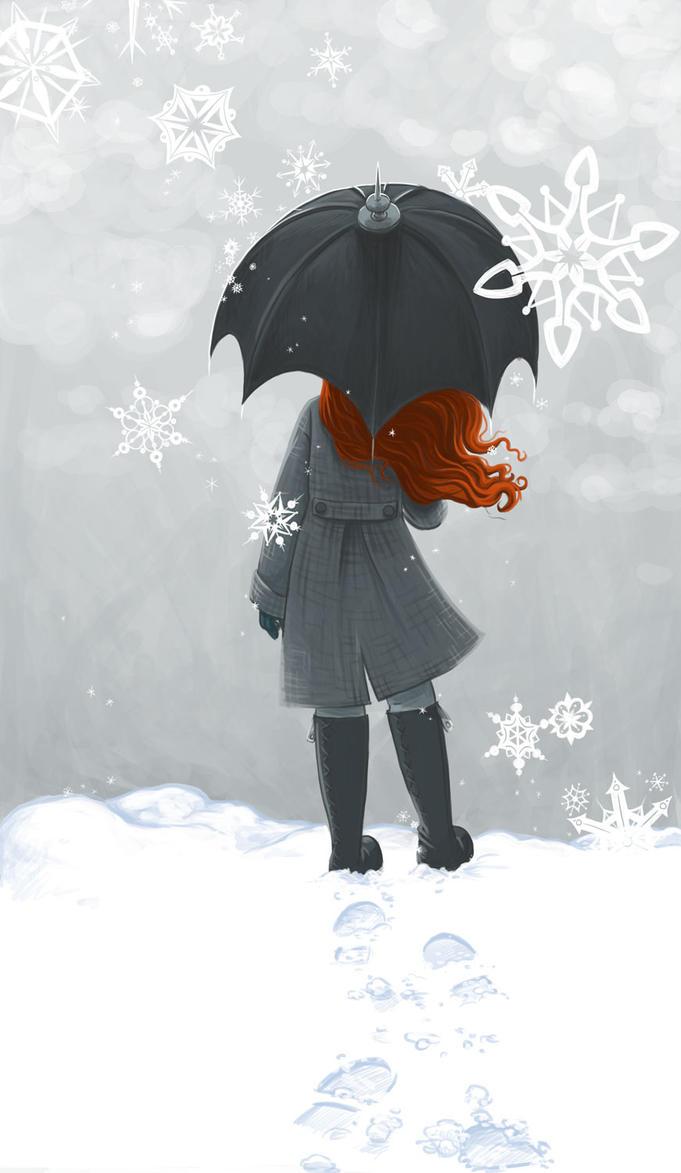 December Doodle by str4yk1tt3n