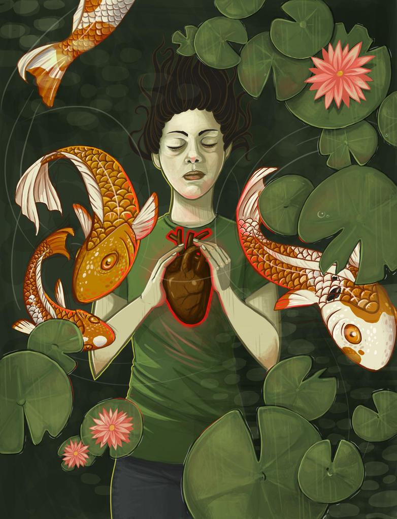 Ophelia of the Tea Garden by str4yk1tt3n
