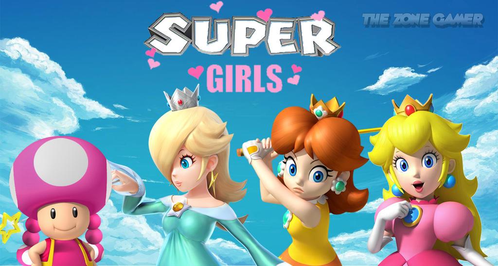 super mario bros girls by thezonegamer on deviantart