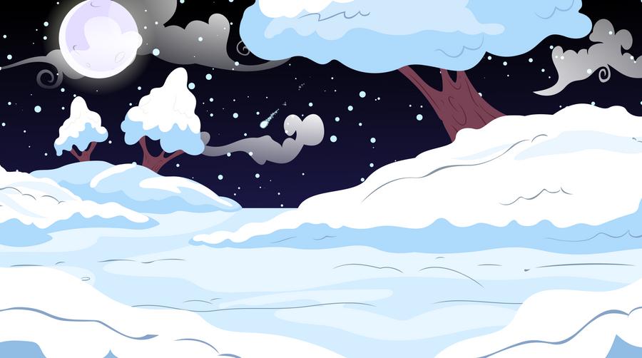 A Snowy Night by TheJBW