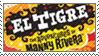 Stamp: El Tigre by ArtByFlan
