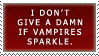 Stamp: Sparkles McVampire by FlantsyFlan