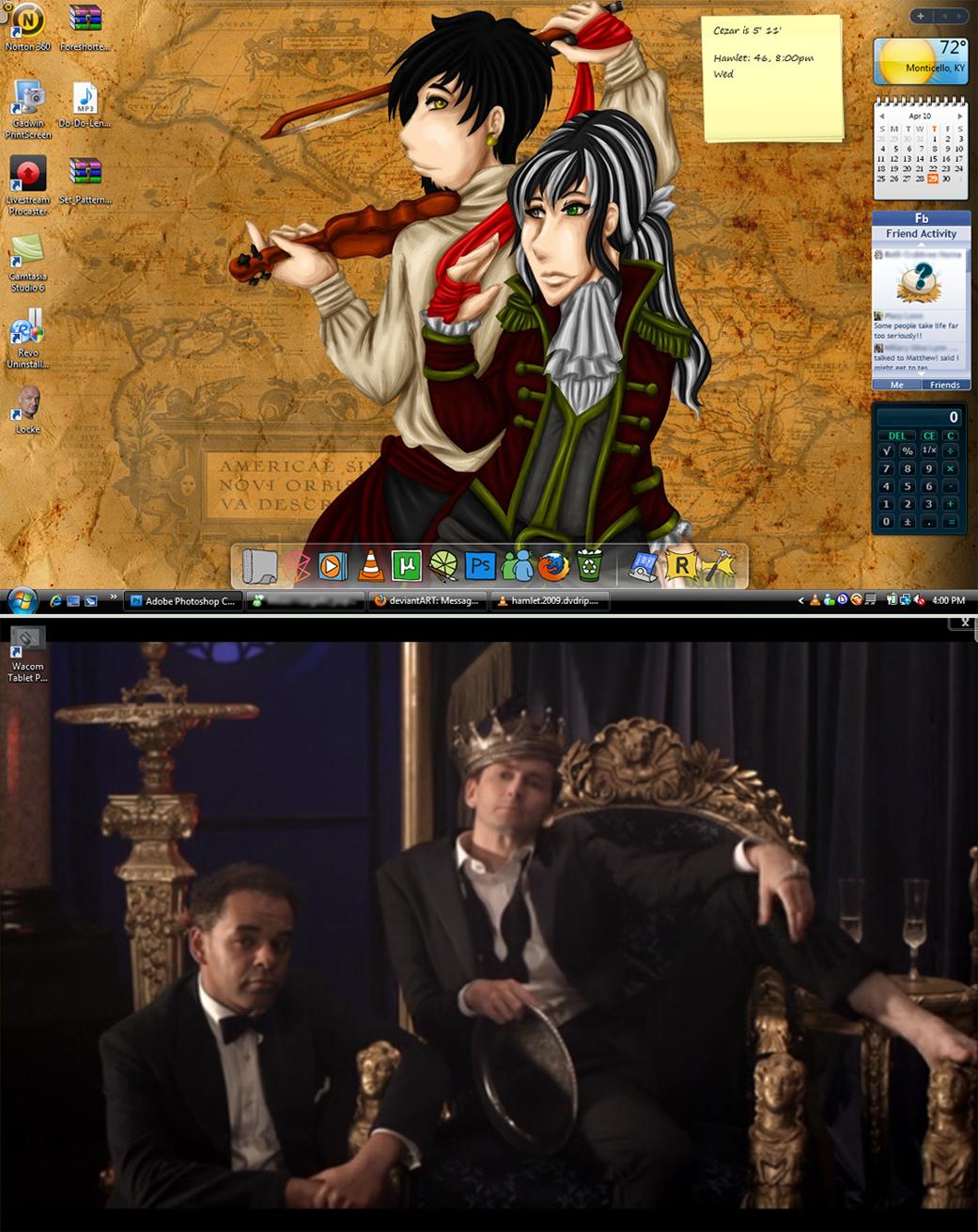 Fancy Schmancy Desktops by FlantsyFlan