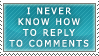 Stamp: To Reply by ArtByFlan