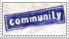 Stamp: Community by ArtByFlan