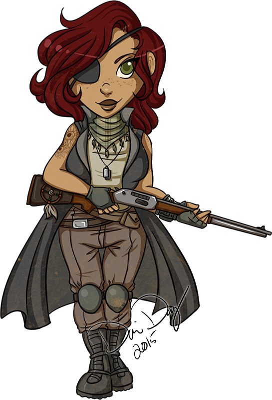 Smol Courier Six by FlantsyFlan