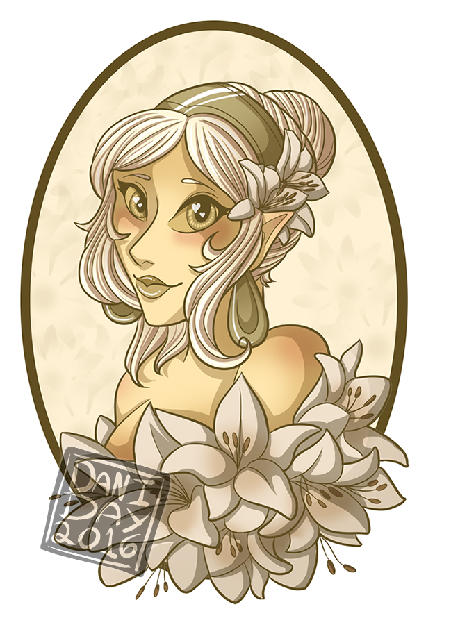 Lilly of Tamriel by FlantsyFlan