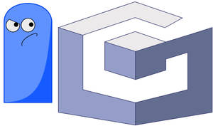 Bloo and Gamecube Logo