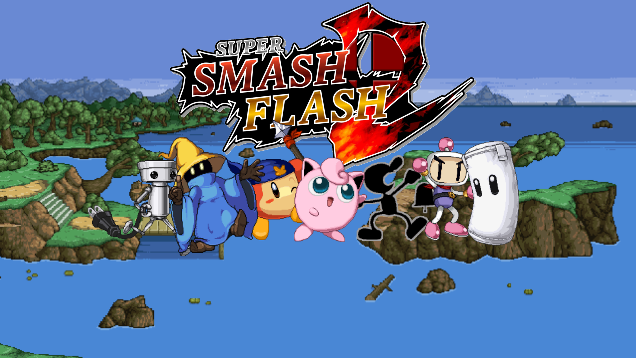 Super Smash Flash 2 Final Character Reveal Of Super Smash Con