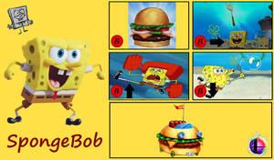 SSB Moveset - Spongebob