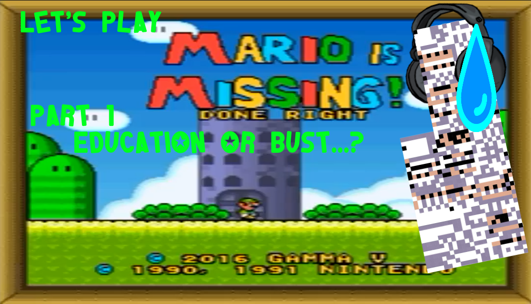 fake title card mario is missing done right 1 by domobfdi on