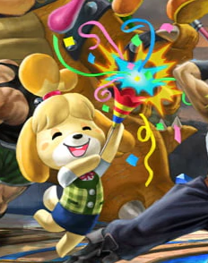 Isabelle In Smash Bros Ultimate by domobfdi
