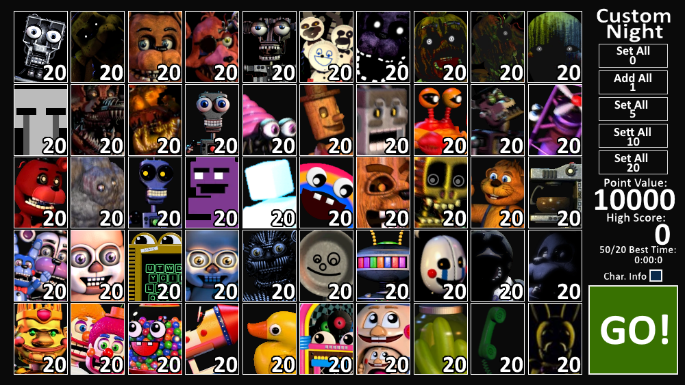 FNAF - If UCN Had Rejected Characters by domobfdi on DeviantArt