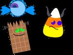 Ceyendy, Krampy Korn, And Chocolenstein