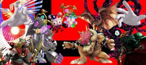 Super Smash Bros. Ultimate - Bosses Background