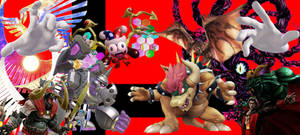Super Smash Bros. Ultimate - Bosses Background by domobfdi