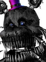 Shadow Nightmare Fredbear UCN Icon by domobfdi