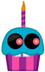 Meet The Nerds - Blacklight Cupcake by domobfdi