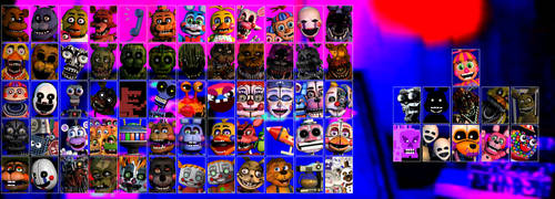If I Made Ultimate Custom Night V8 by domobfdi