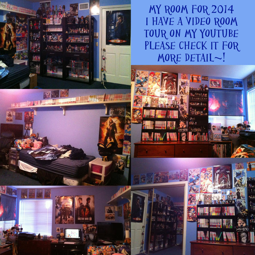 My Room For 2014 With A Video Room Tour By LuffyNoTomo On DeviantART