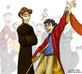 Quidditch Final by soleta