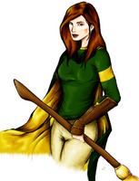 Ginny Weasley by soleta
