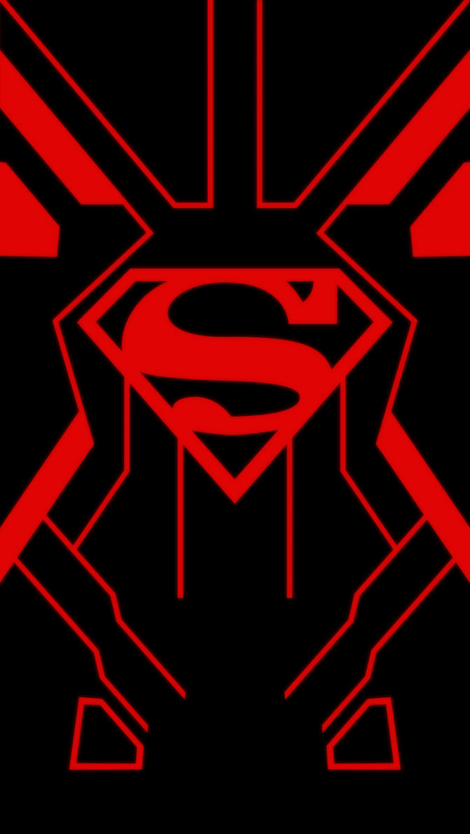 Superboy iPhone 5 Wallpaper by IzLacson on DeviantArt