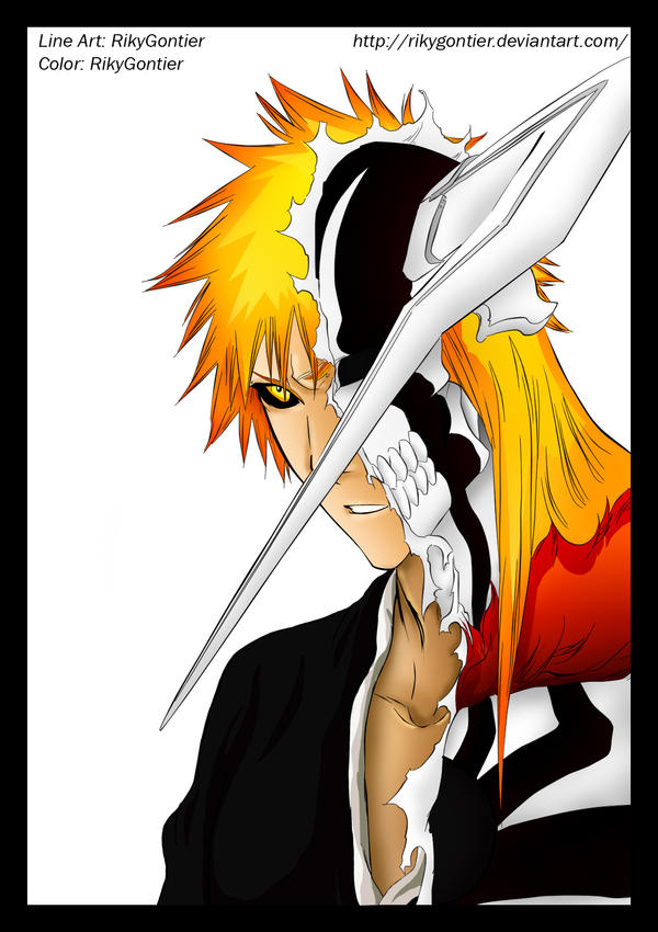 Ichigo new Hollow form by RikyGontier on DeviantArt