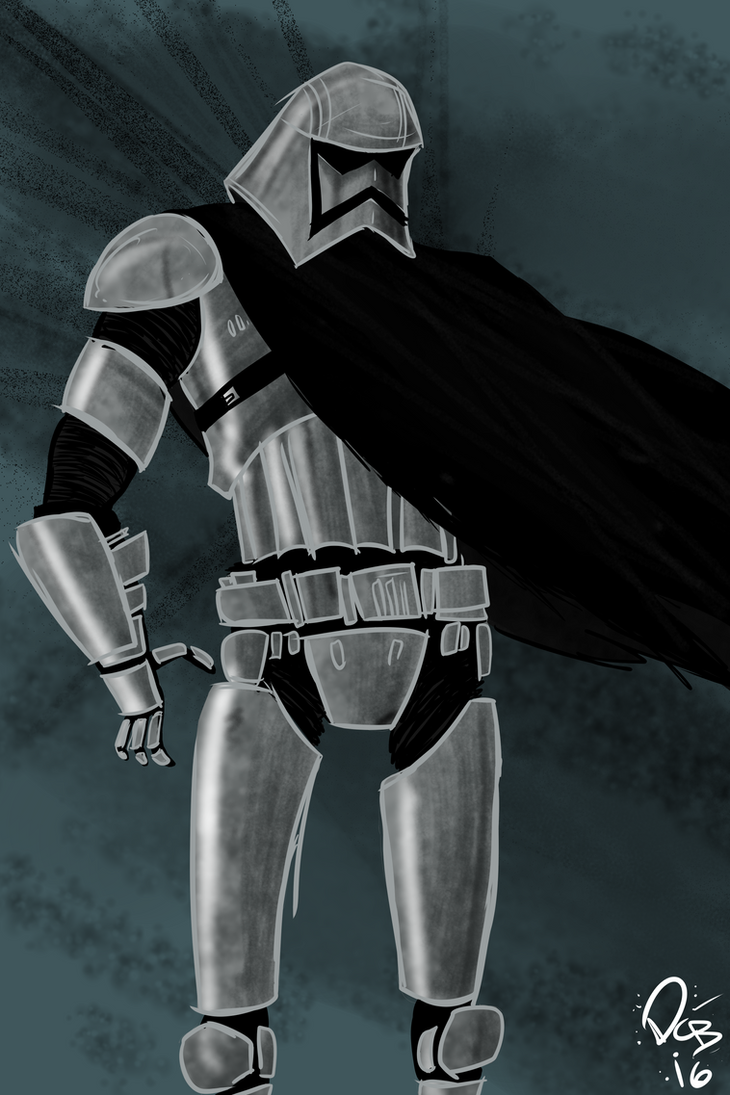 Captain Phasma by Dustynng