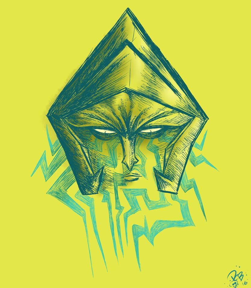 Yellow Diamond by Dustynng