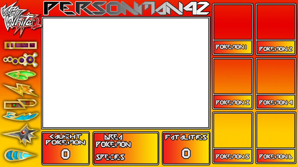 Pokemon Volt White 2 Nuzlocke Layout By Mkpika On Deviantart