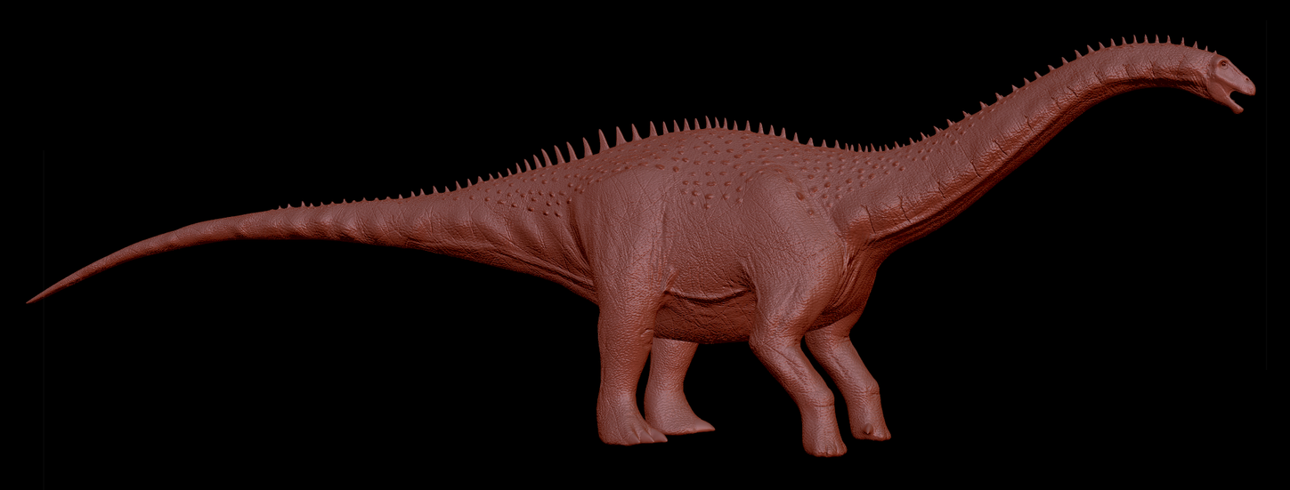 Apatosaurus WIP by Sketchy-raptor