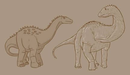 30 Day Dinosaur Drawing Challenge - Day 8 by Sketchy-raptor