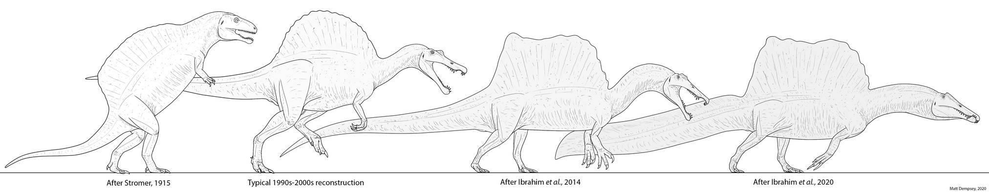 ''Speen Saga'' - A History of Spinosaurus Imagery